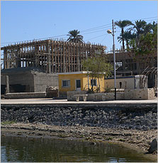 Amarna museum under constrction