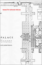 Plan of the part of the Great Palace built from stone and called the 'State Apartments'